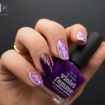 Manucure aquarelle violet 2 thumb370f