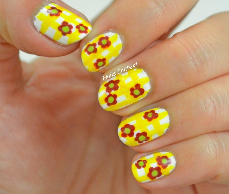 Summer Floral Nail Art nail art by NailsContext