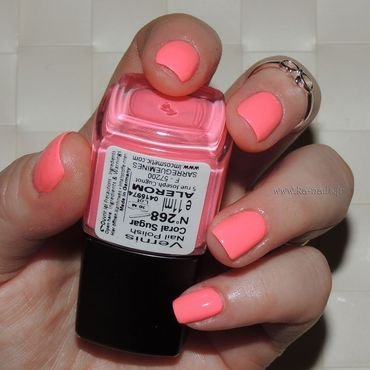 LM Cosmetic Coral Sugar N° 268 Swatch by Ka'Nails