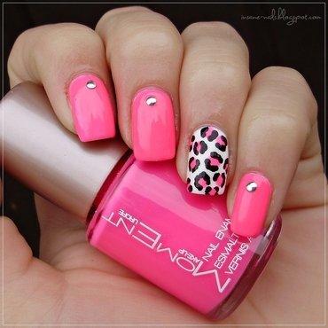Mm leopard neon manicure 3 thumb370f