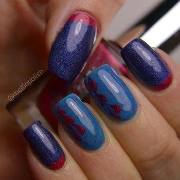 Ruffian of My Heart nail art by Meltin'polish