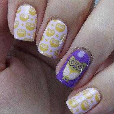 Bp 54 nail stamping plate bornpretty store todos los esmaltes son pocos owls thumb370f
