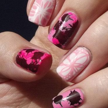 Y001 nail stamping plate bornpretty store todos los esmaltes son pocos 1 thumb370f