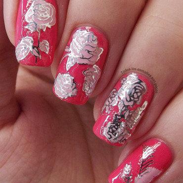 Flowers nail stickers dresslink manicure todos los esmaltes son pocos 4 thumb370f