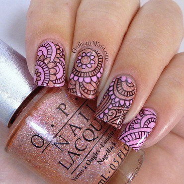 Pink 20nail 20art 20with 20born 20pretty 20stpre 20plate 20bp 48 thumb370f