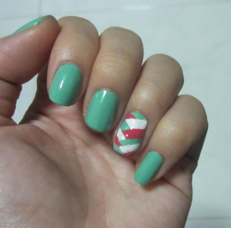 Essential Fishtail nail art by JingTing Jaslynn