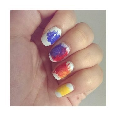 #31dc2 - Primary or Secondary nail art by JingTing Jaslynn