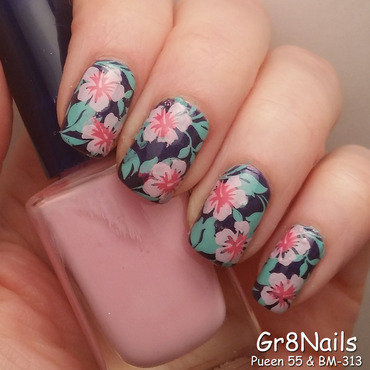 Nail Stamping nail art by Gr8Nails