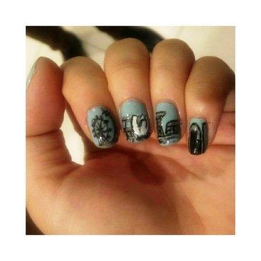 #31dc2 - Landscape nail art by JingTing Jaslynn