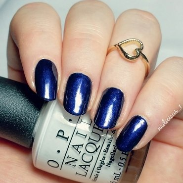 OPI Russian Navy Swatch by nailicious_1
