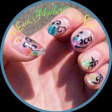 Różne nail art by Ewa EvaNails