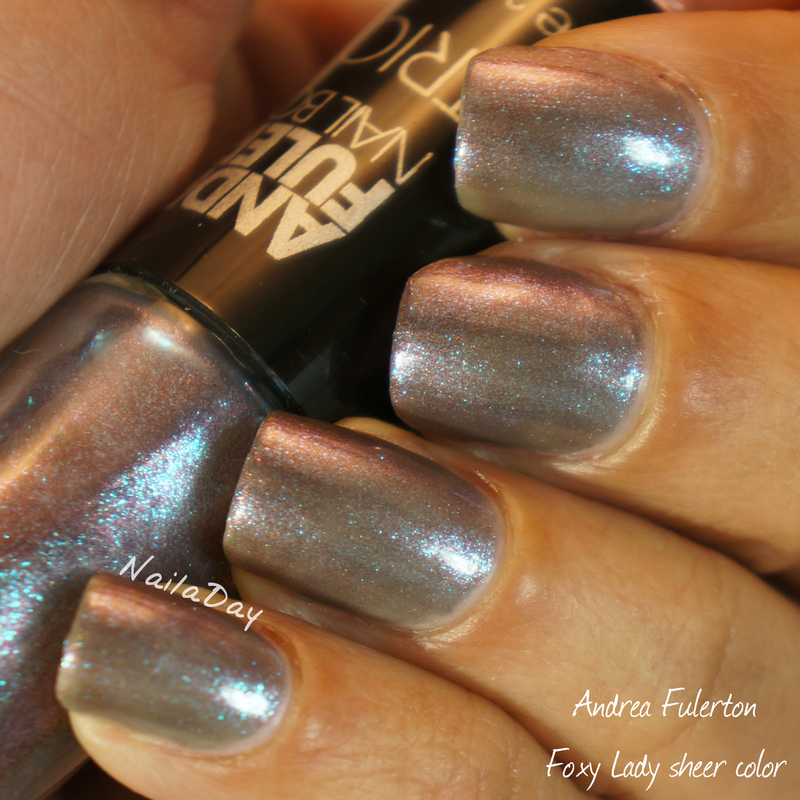 Andrea Fulerton Foxy Lady Trio Swatch by Nailaday