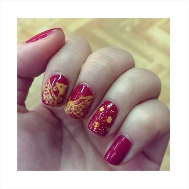 #31dc2 - World Culture nail art by JingTing Jaslynn