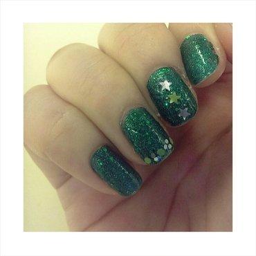 #31dc2 - Glitter nail art by JingTing Jaslynn
