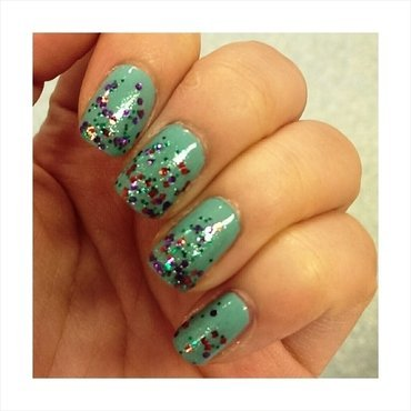 #31dc2 - Indie Polish nail art by JingTing Jaslynn