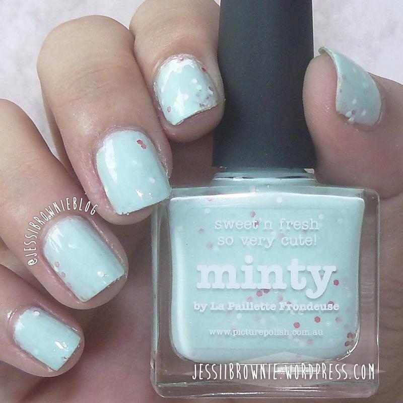 piCture pOlish Minty Swatch by Jessi Brownie (Jessi)