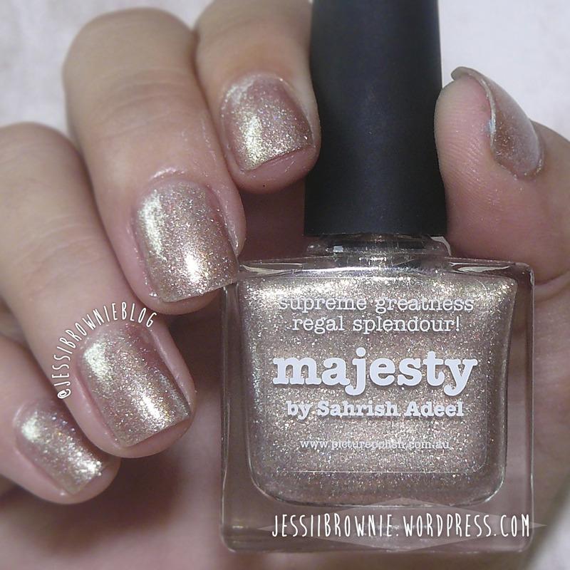 piCture pOlish Majesty Swatch by Jessi Brownie (Jessi)