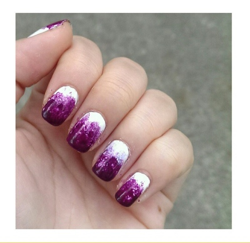 #31dc2 - Gradient nail art by JingTing Jaslynn