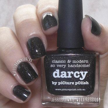 piCture pOlish Darcy Swatch by Jessi Brownie (Jessi)