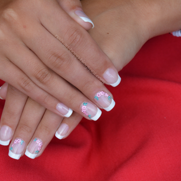 Bride nails nail art by bopp