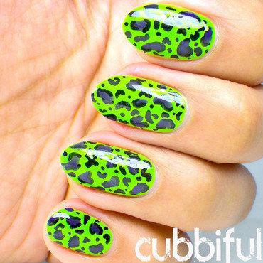 Acid green leopard print thumb370f