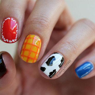 Toy Story Nail Art 1 nail art by PolishCookie