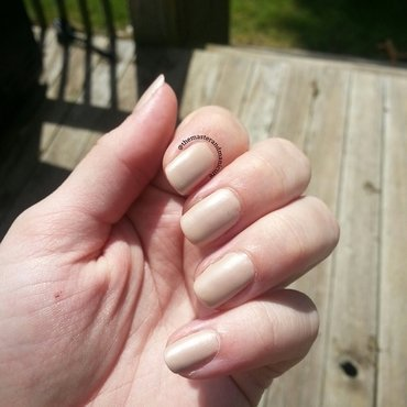 Sally Hansen Big Matte Top Coat and Hard Candy Claws Up! Swatch by Kelsey