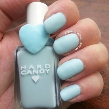 Sally Hansen Big Matte Top Coat and Hard Candy Sky Swatch by Kelsey