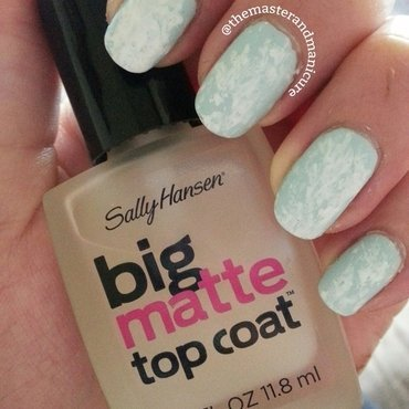 Clouds nail art by Kelsey