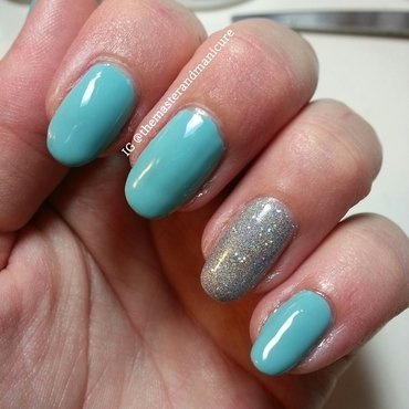 Chine Glaze For Audrey and Orly Mirrorball Swatch by Kelsey