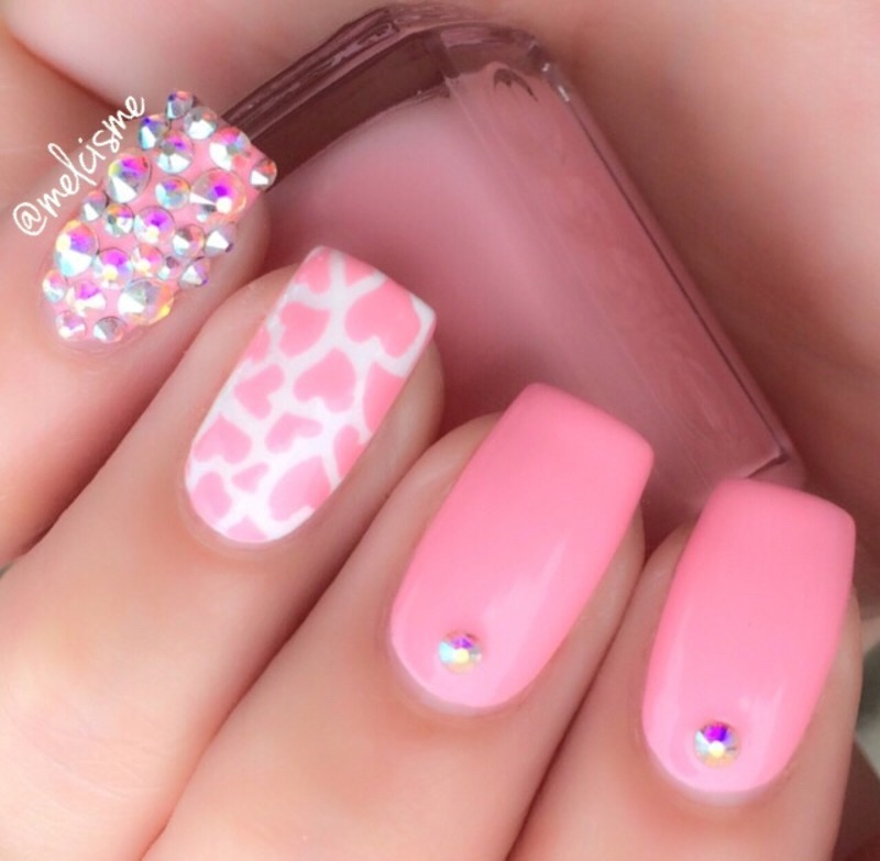 Super girly nail art by Melissa - Super Girly Nail Art By Melissa - Nailpolis: Museum Of Nail Art