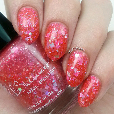 KBShimmer Belle Of The Mall Swatch by Lindsay