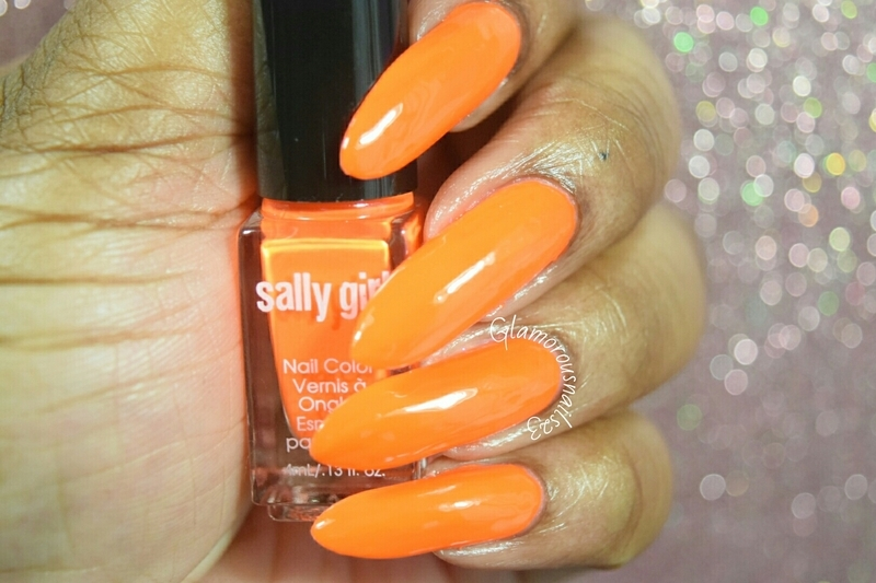 Sally Girl Crazy Swatch by glamorousnails23