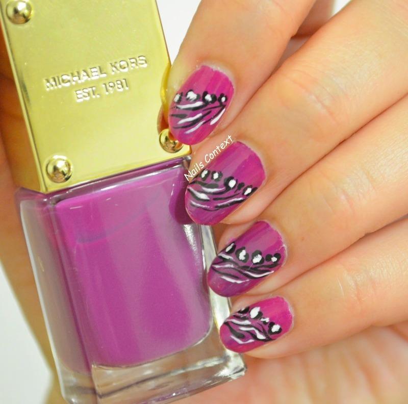 Michael Kors ENVY nail art by NailsContext