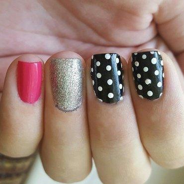 •Polka dot nails• nail art by Olivia D.