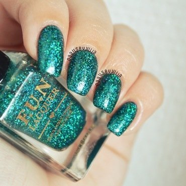 Fun Lacquer Secret Swatch by Julia