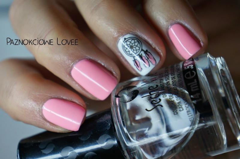 Dreamcatcher  nail art by PaznokcioweLovee