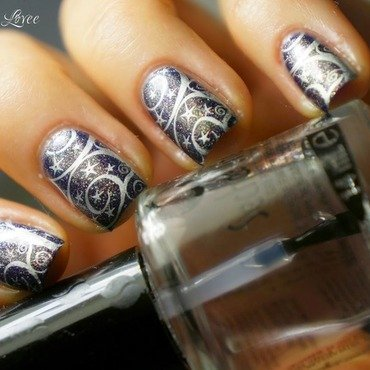 Space nails nail art by PaznokcioweLovee
