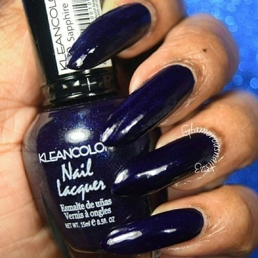 Kleancolor Sapphire Swatch by glamorousnails23