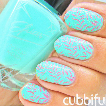 Leaves stamping nails thumb370f