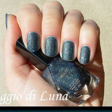 Avon Stardust Teal Glitter Swatch by Tanja