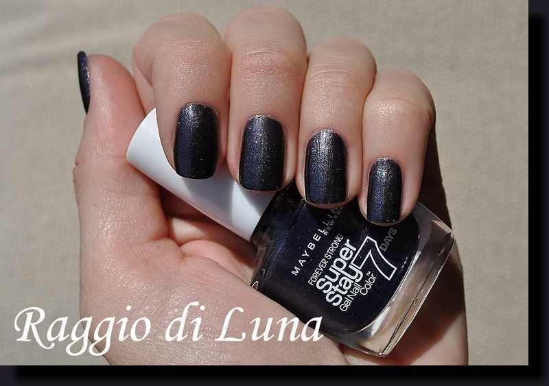 Maybelline n° 815 Carbon Grey Swatch by Tanja