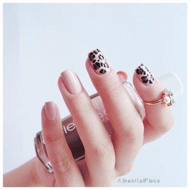 🐆 nail art by Alina E.