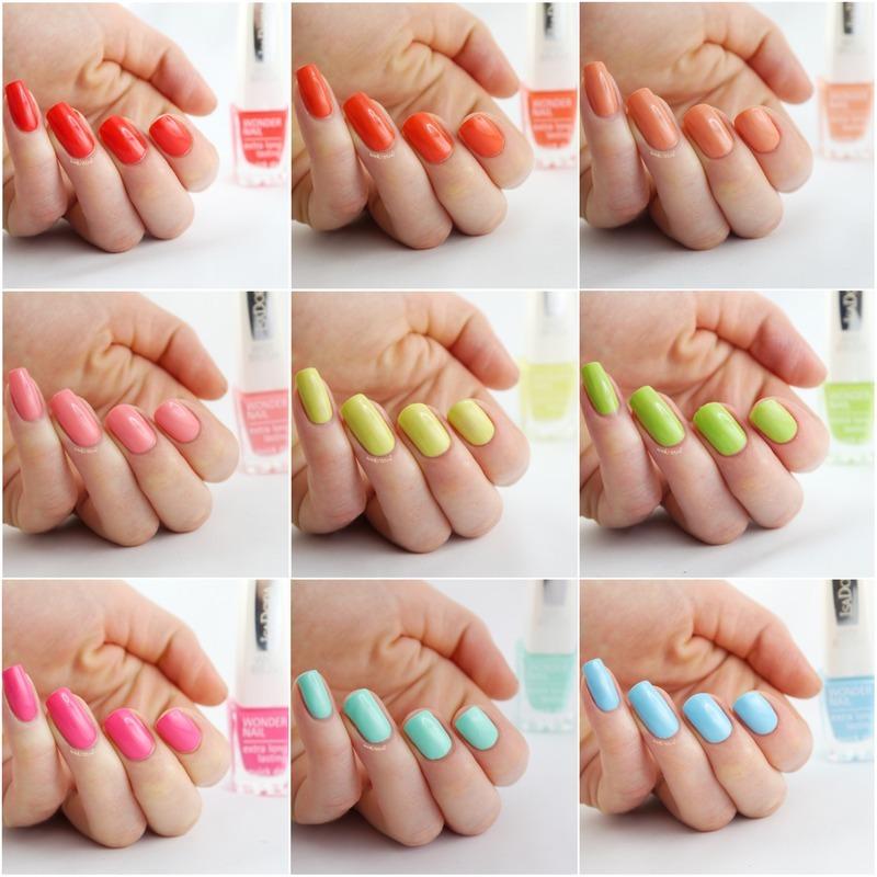 IsaDora Lips and Nails nail art by Ann-Kristin