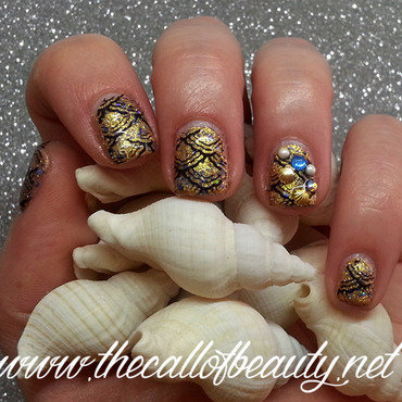 Nail 20art 20su 20smalto 20semipermanente 20  20mermaid 20jewel 20mani 20 31  20wm thumb370f