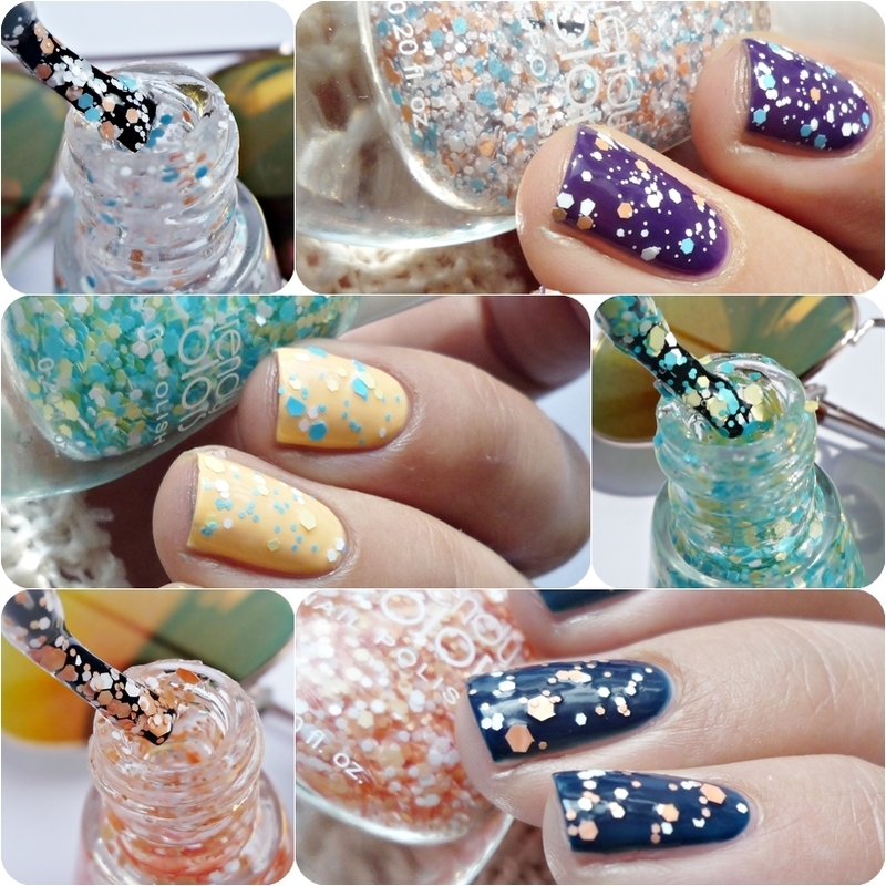 Trendy Colors 01, Trendy Colors 14, and Trendy Colors 15 Swatch by Romana