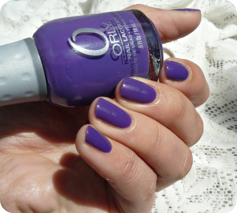 Orly Charged Up Swatch by Romana