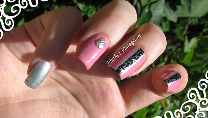 let iti be pink nail art by Ninthea