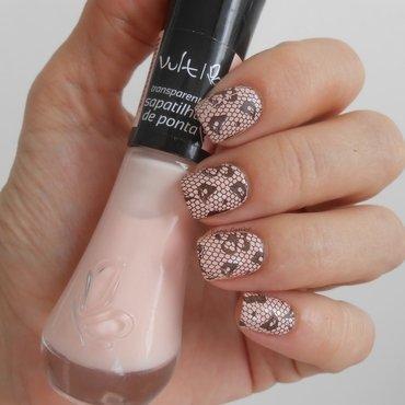 renda nail art by Ilana Coelho