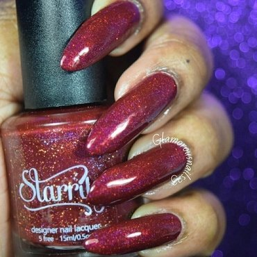 Starrily Poisoned Apple Swatch by glamorousnails23